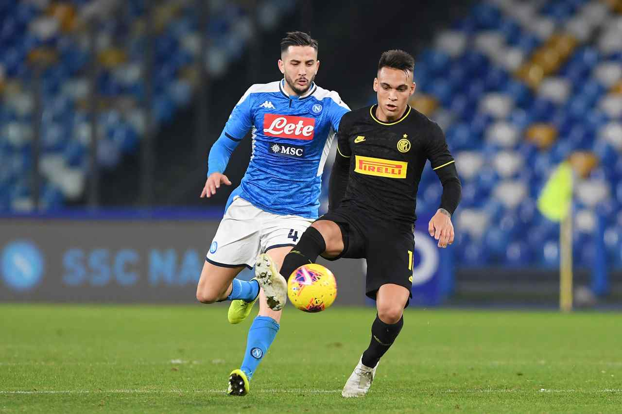 Manolas calciomercato Napoli