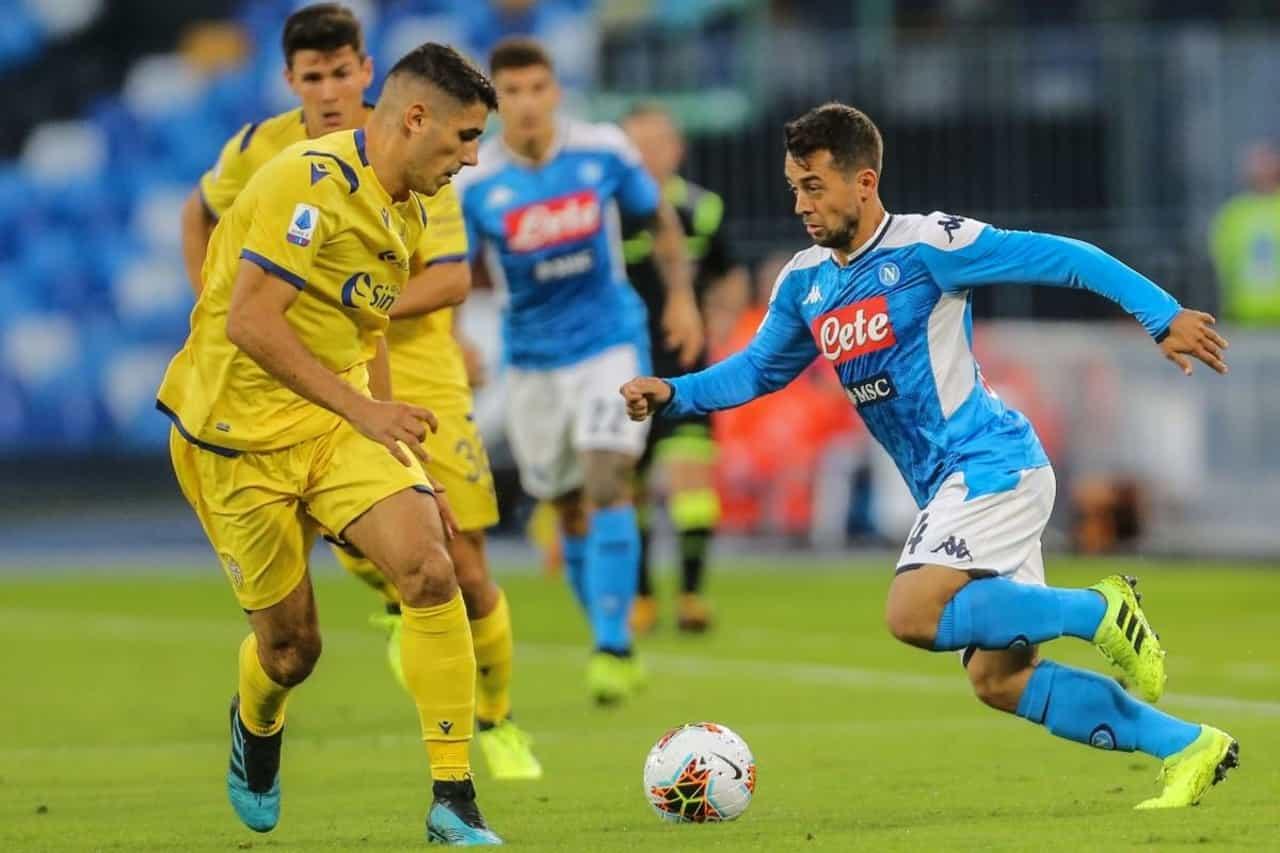 calendario Serie A Verona-Napoli