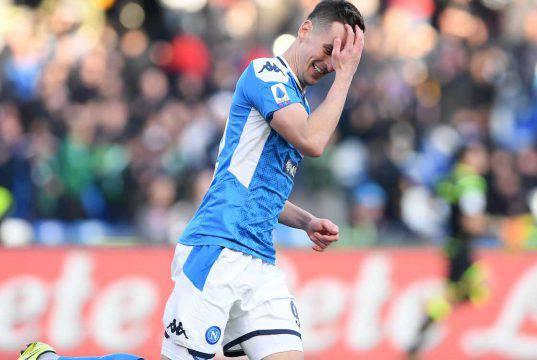 Milik Napoli Juventus