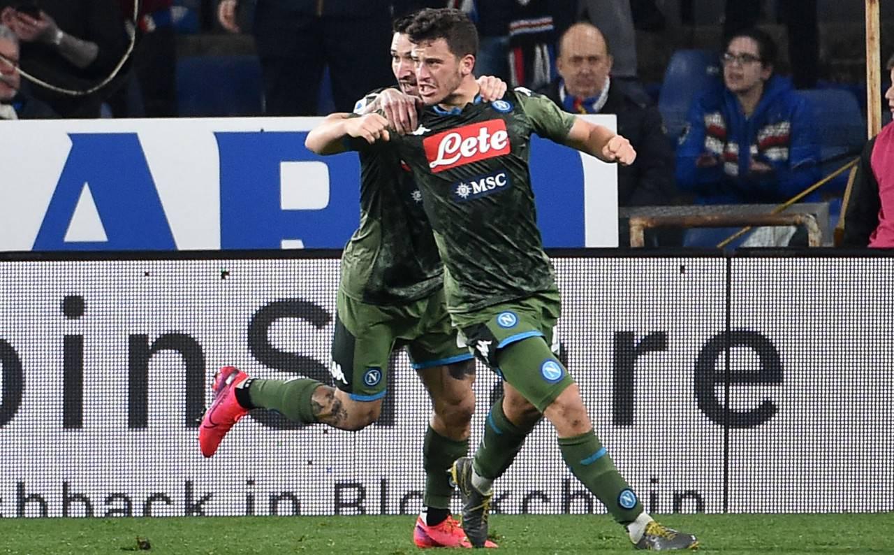 Diego Demme - Sampdoria Napoli