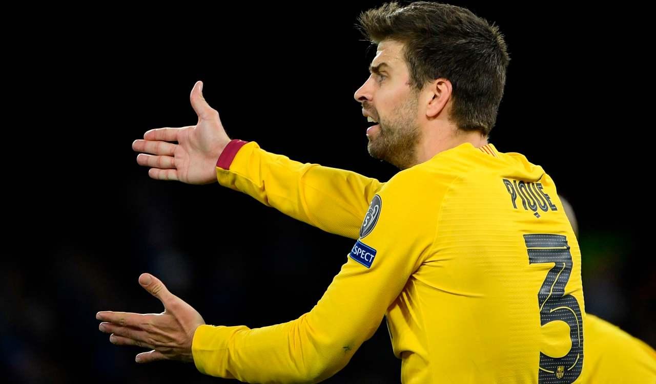 Infortuni Barcellona Piqué