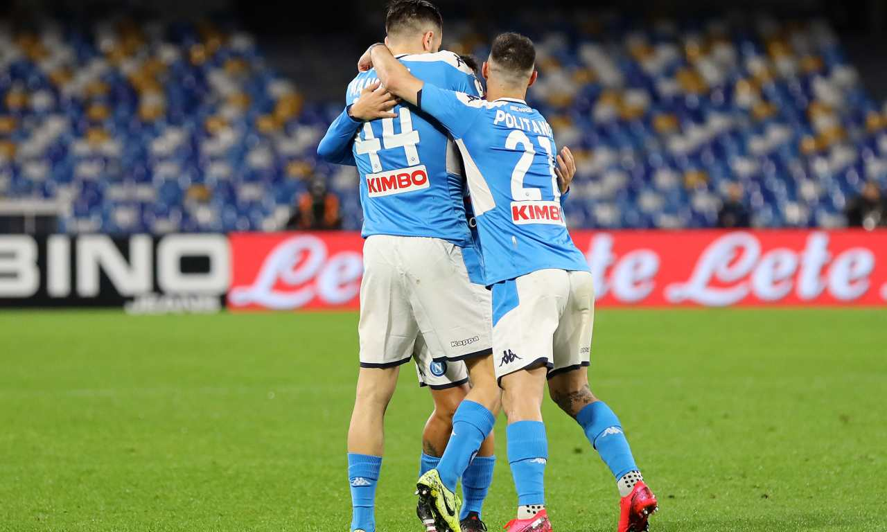Uefa campionati Napoli