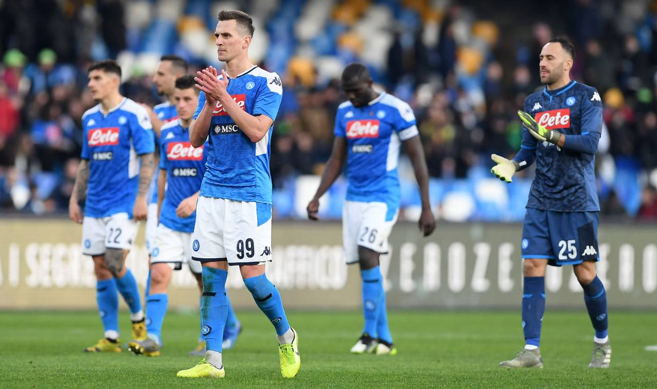 Napoli Inter calendario