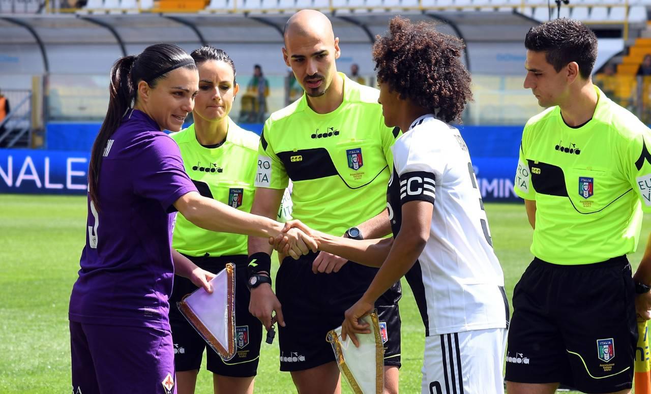 Juve Fiorentina femminile