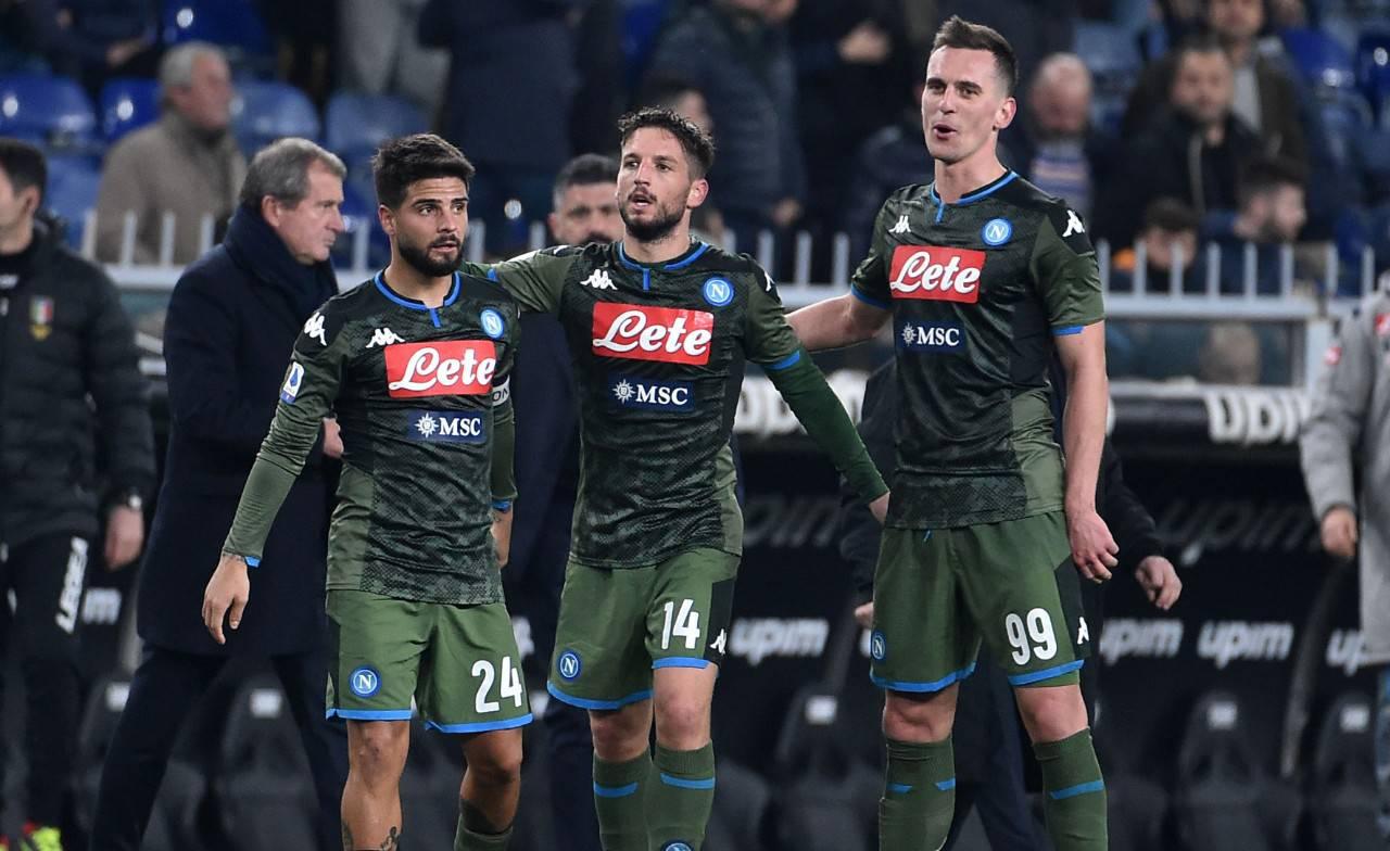Mertens Sampdoria Napoli