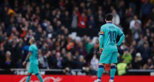 Messi Valencia Barcellona