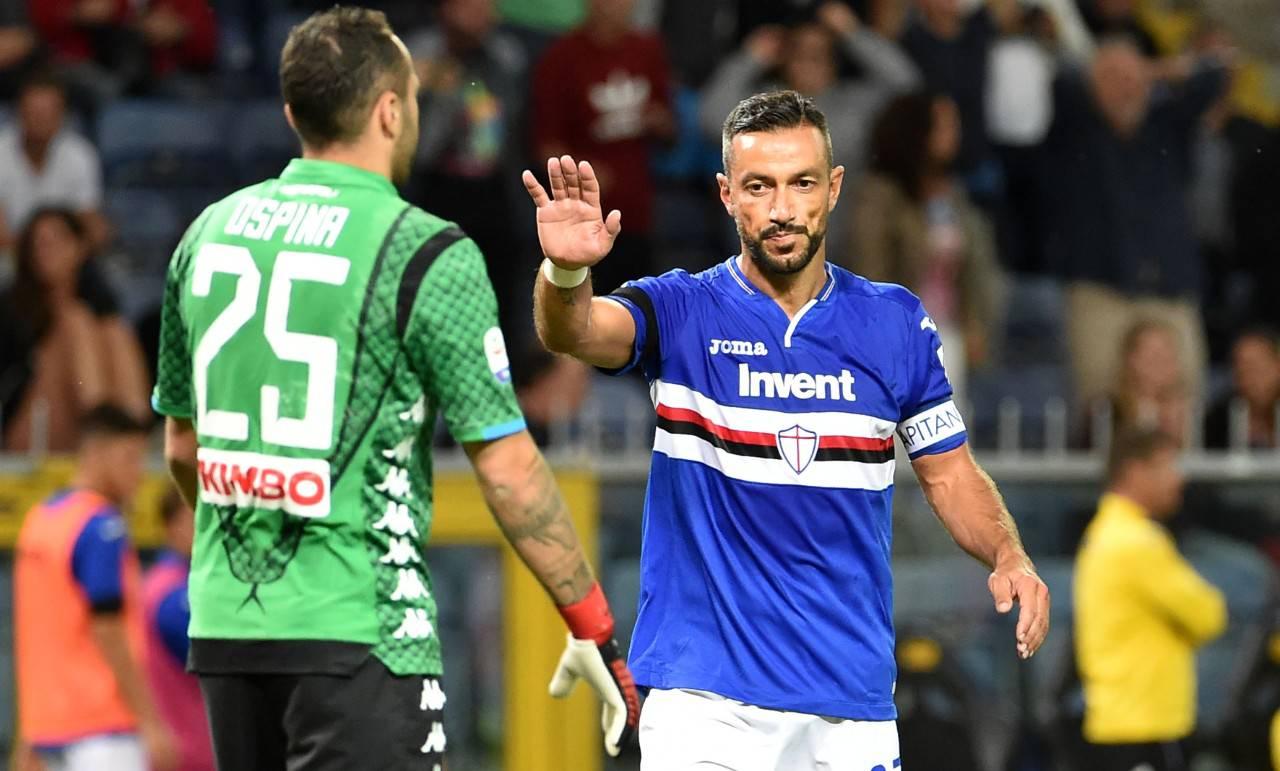 Quagliarella - Sampdoria Napoli