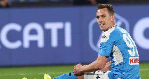 Napoli Milik Juventus