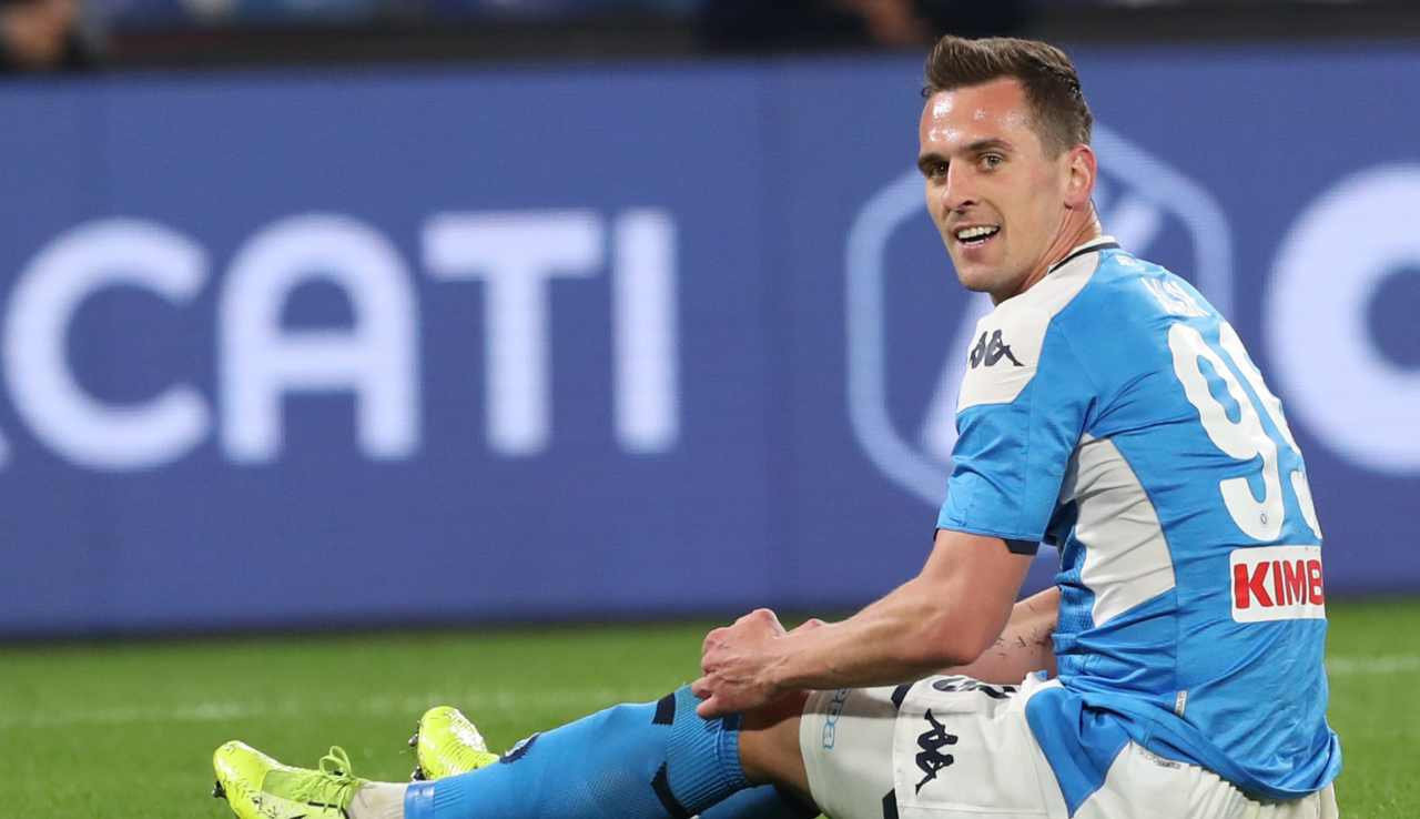 calciomercato Napoli cessione Milik