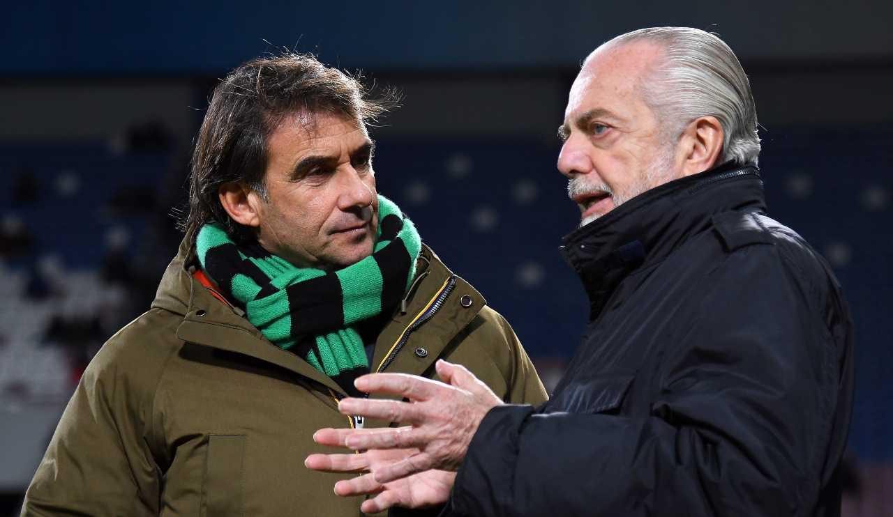 caos Calcio De Laurentiis