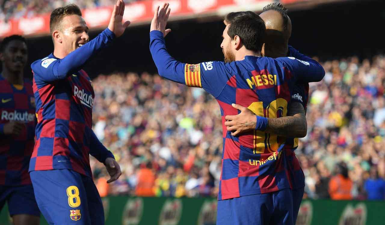 Infortuni Barcellona Arthur
