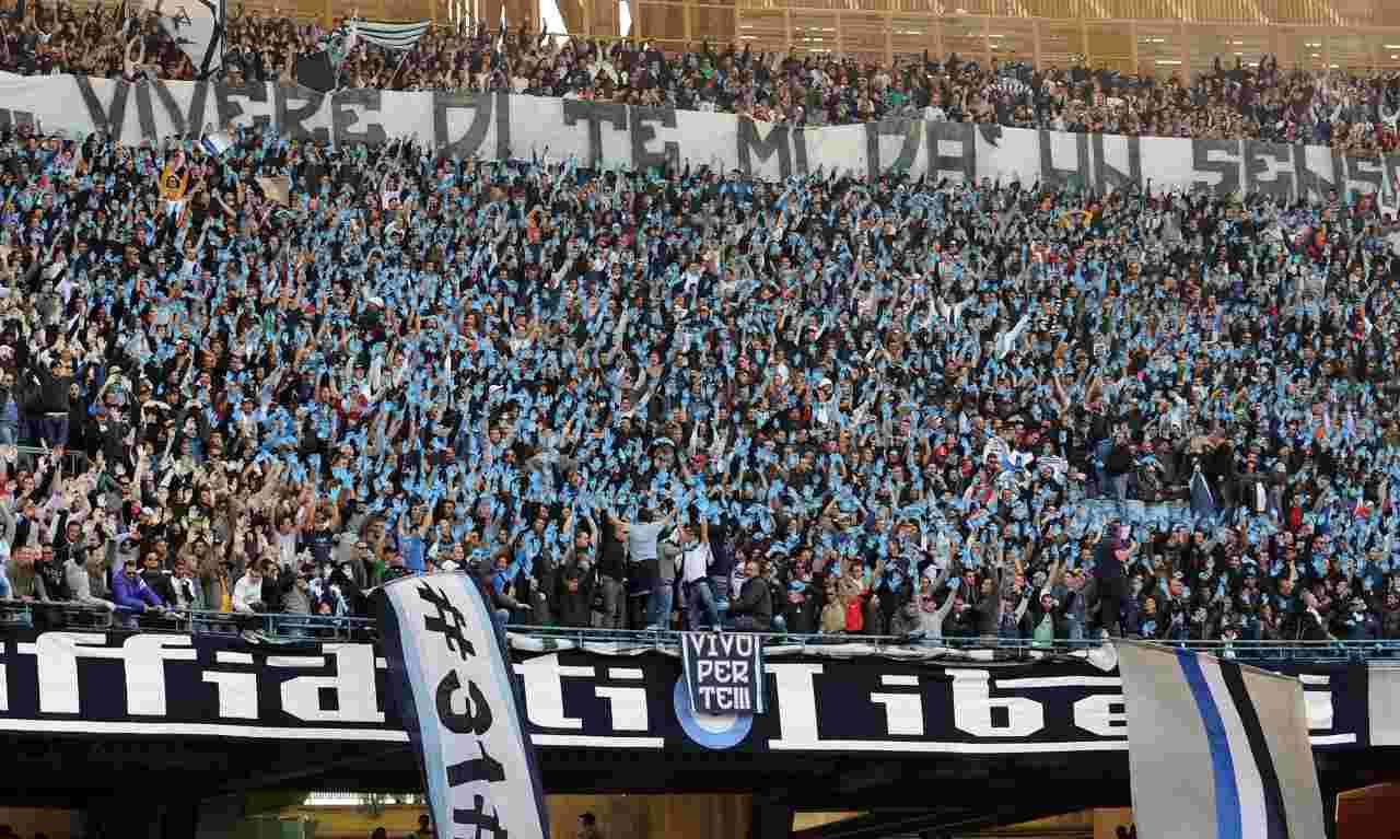 Tifosi del Napoli al San Paolo