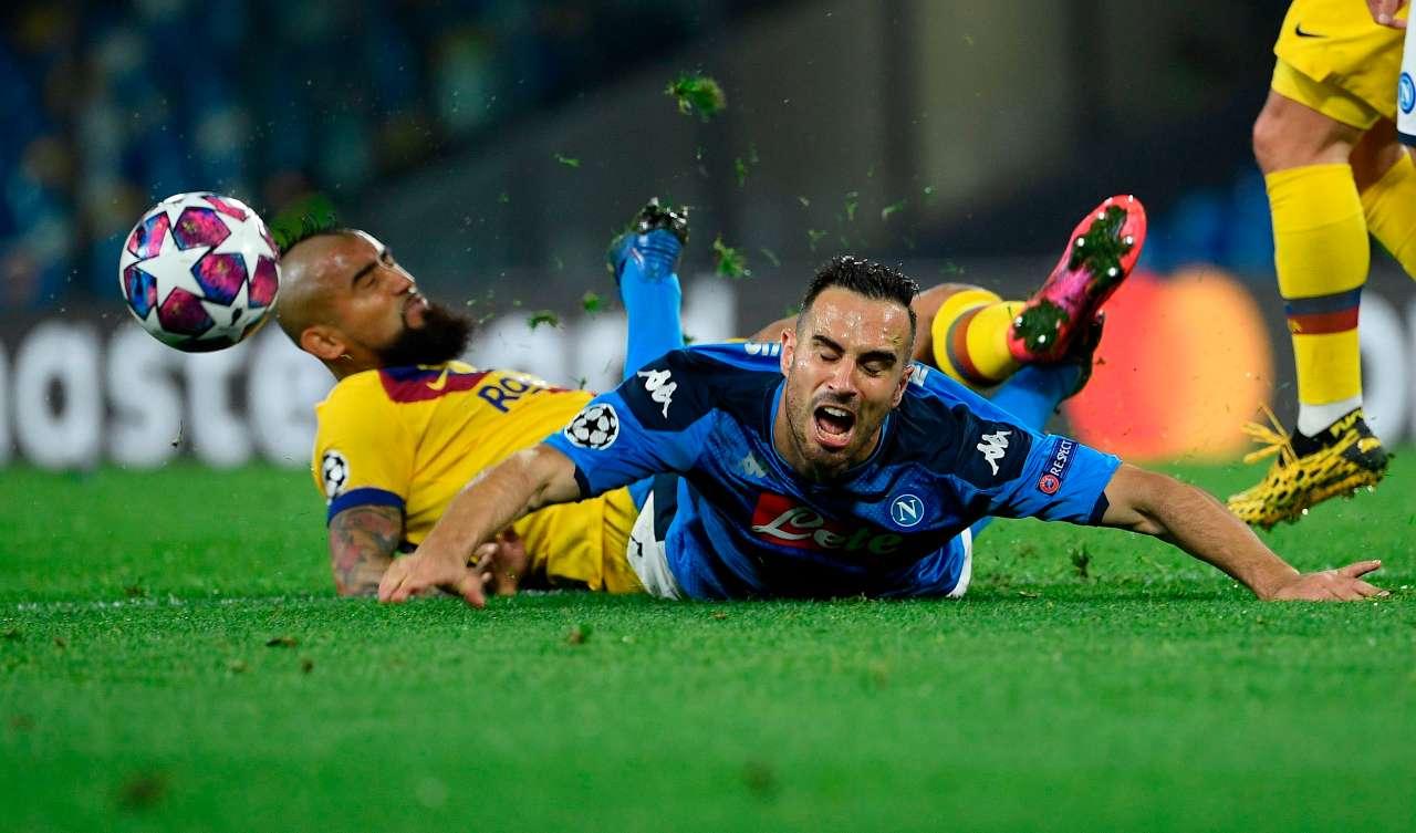 Barcellona Napoli probabili formazioni