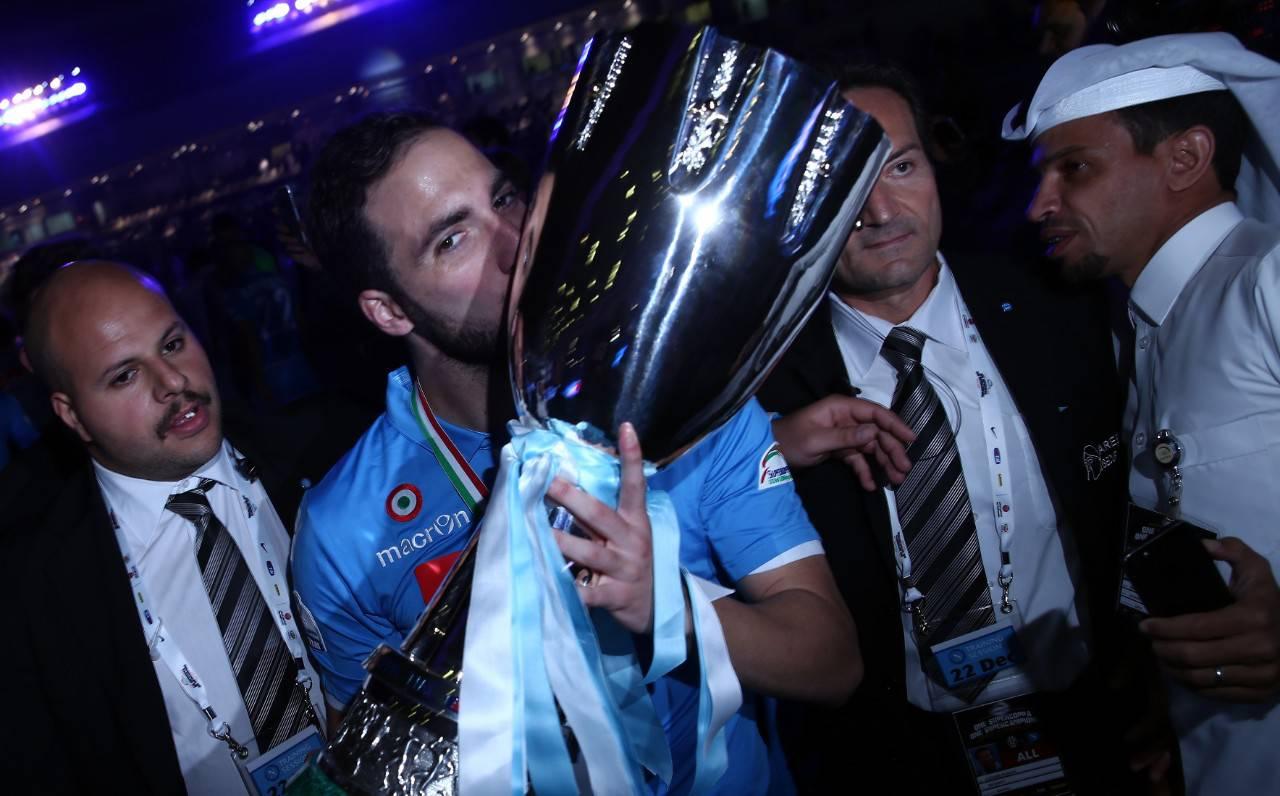 Higuain Supercoppa Doha