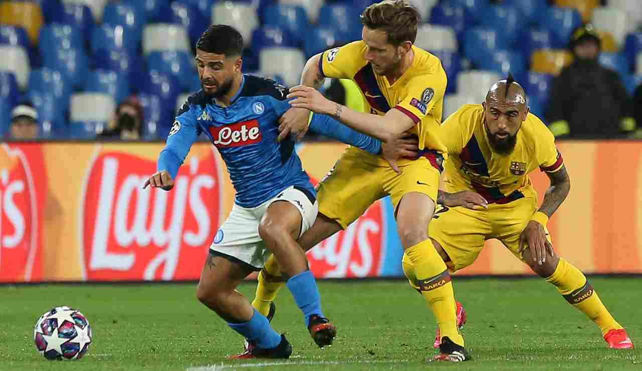 Rakitic Napoli scambio con Ruiz