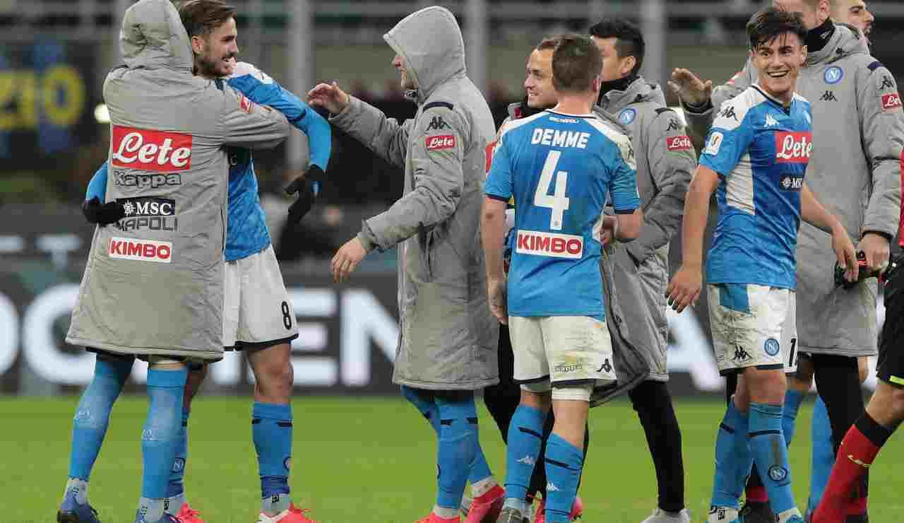 Napoli riparte dalla Coppa Italia