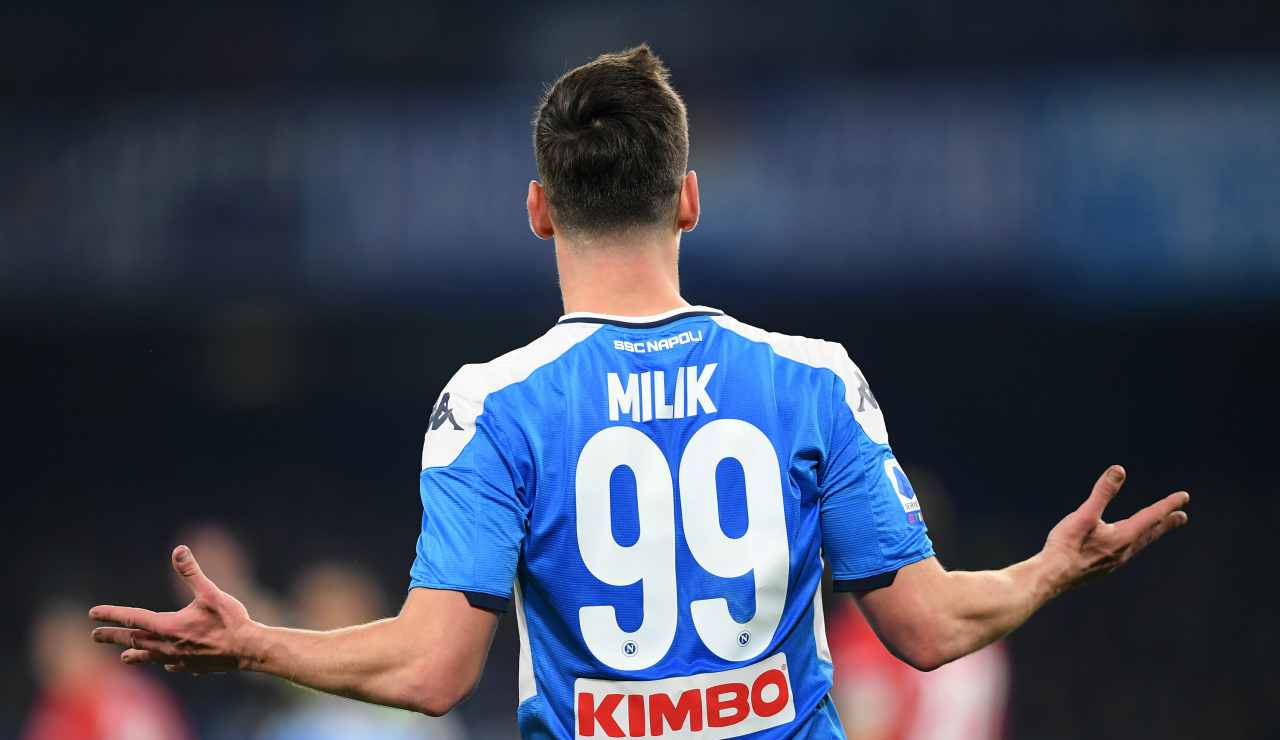 Calciomercato Milik