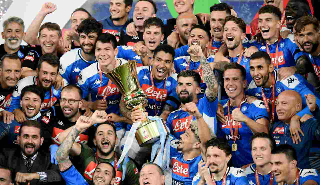 Napoli festeggia Coppa Italia