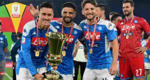Napoli ritiro Coppa Italia