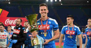 Coppa Italia Milik Napoli