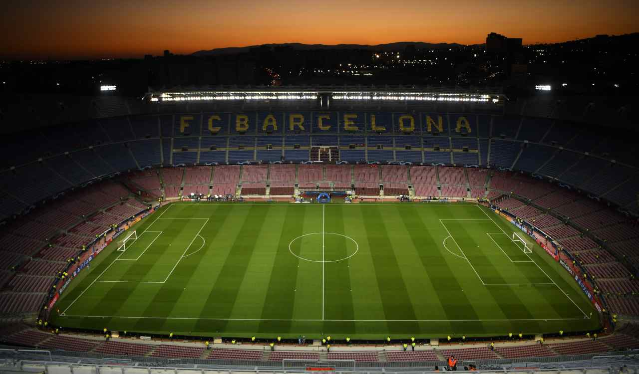 Barcellona Napoli Camp Nou