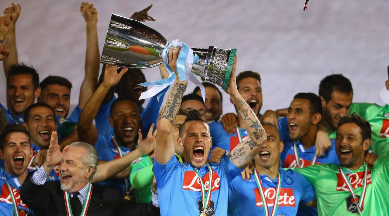 Hamsik - Supercoppa Italiana