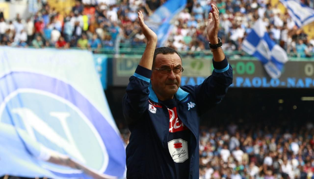 Maurizio Sarri al Napoli