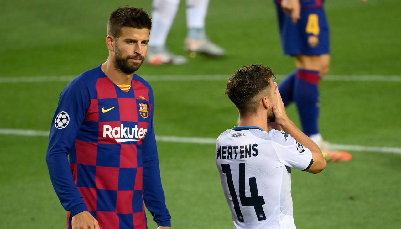 Mertens Barcellona Napoli