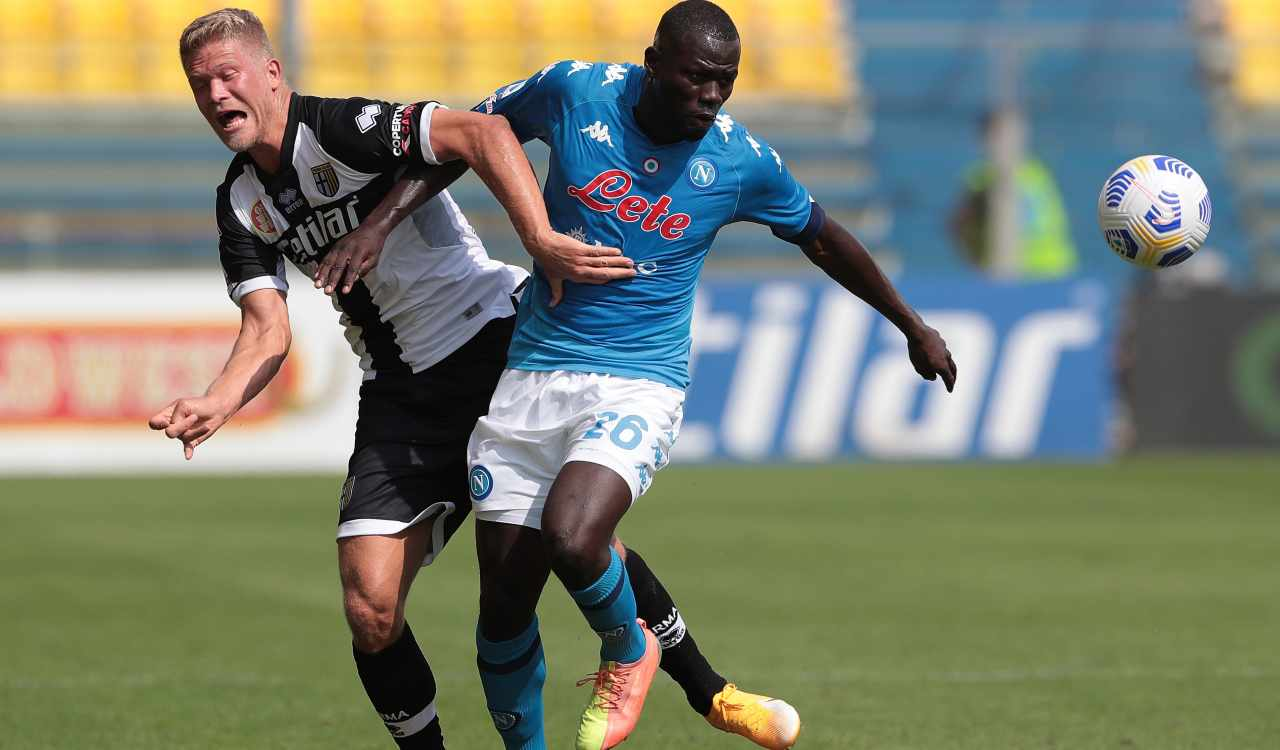 Parma Napoli Cornelius Koulibaly