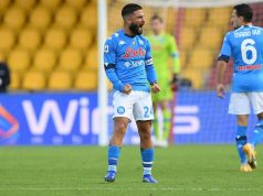 insigne supera higuain classifica marcatori napoli