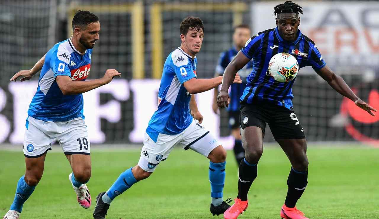 Napoli, si riparte contro l'Atalanta: bestia nera e ...   Napoli- Atalanta