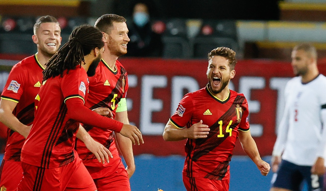 Dries Mertens Belgio