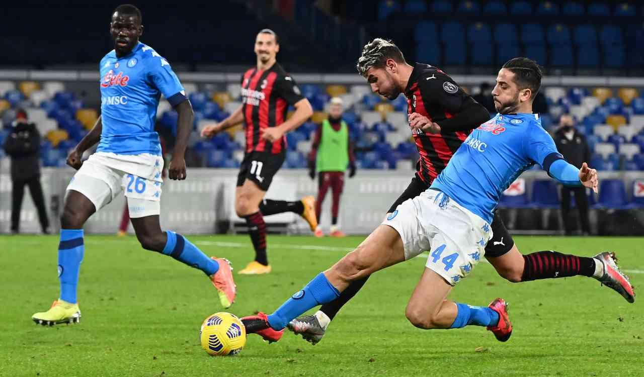 Napoli Milan Hernandez Manolas