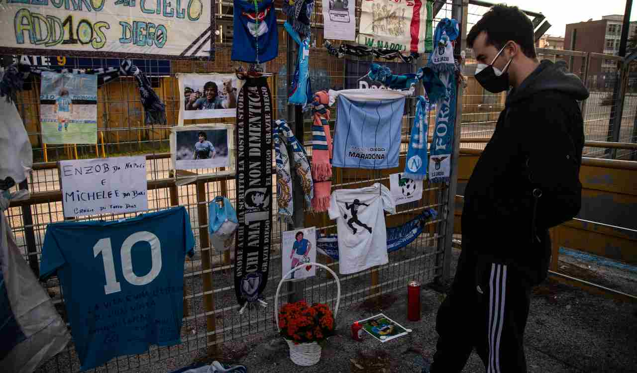 Maradona ricordo
