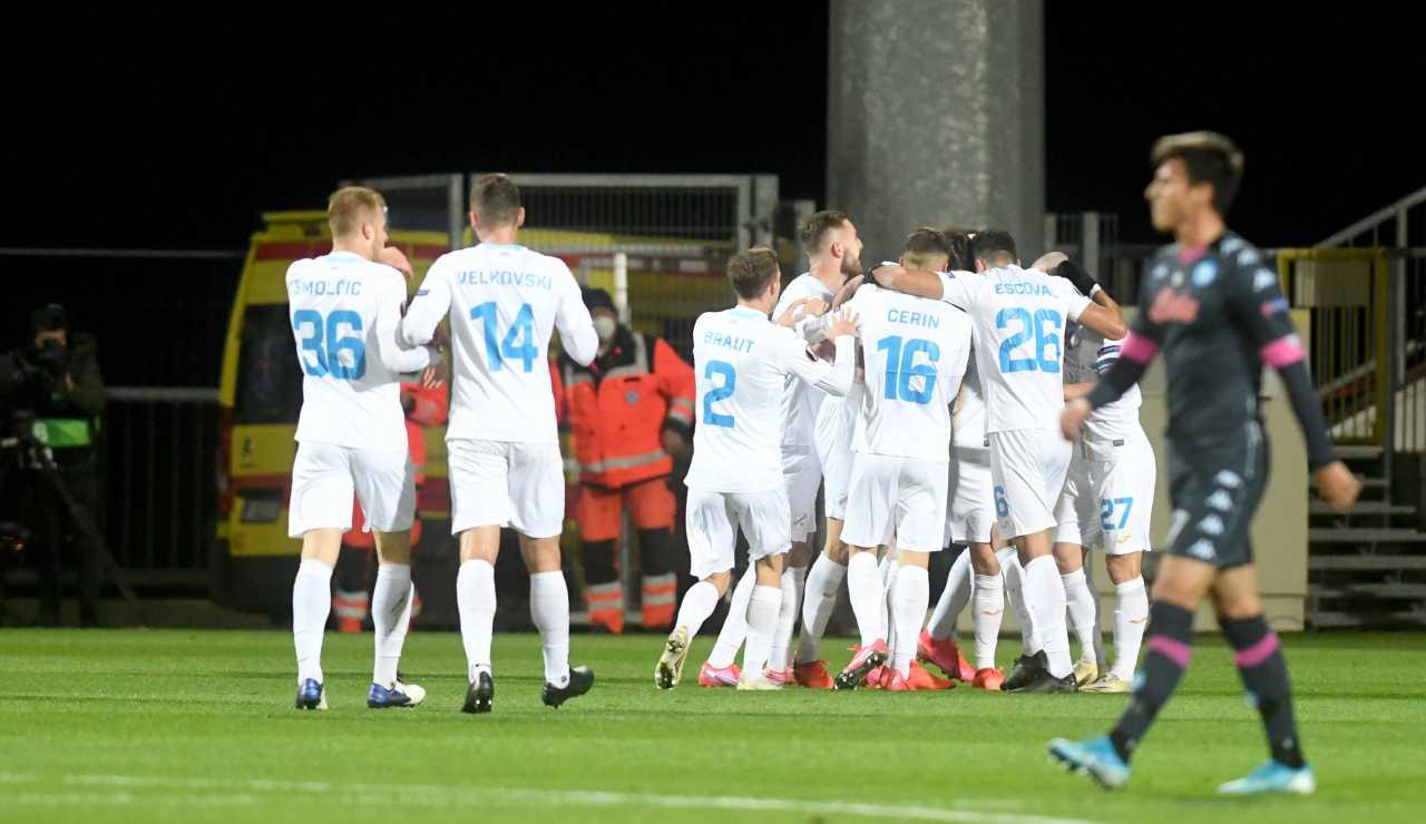 rijeka calciatori covid napoli europa league