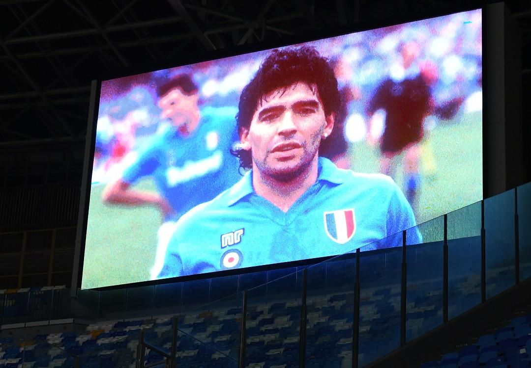 Maradona maxi-schermo
