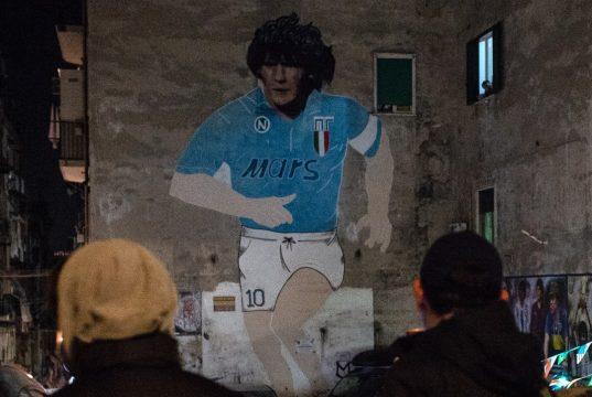 Maradona murale Napoli