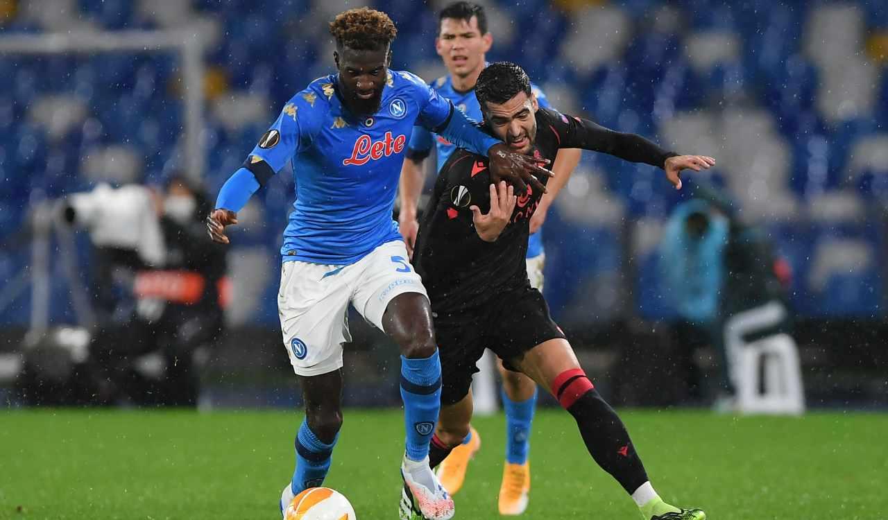 Napoli Real Sociedad Bakayoko Merino