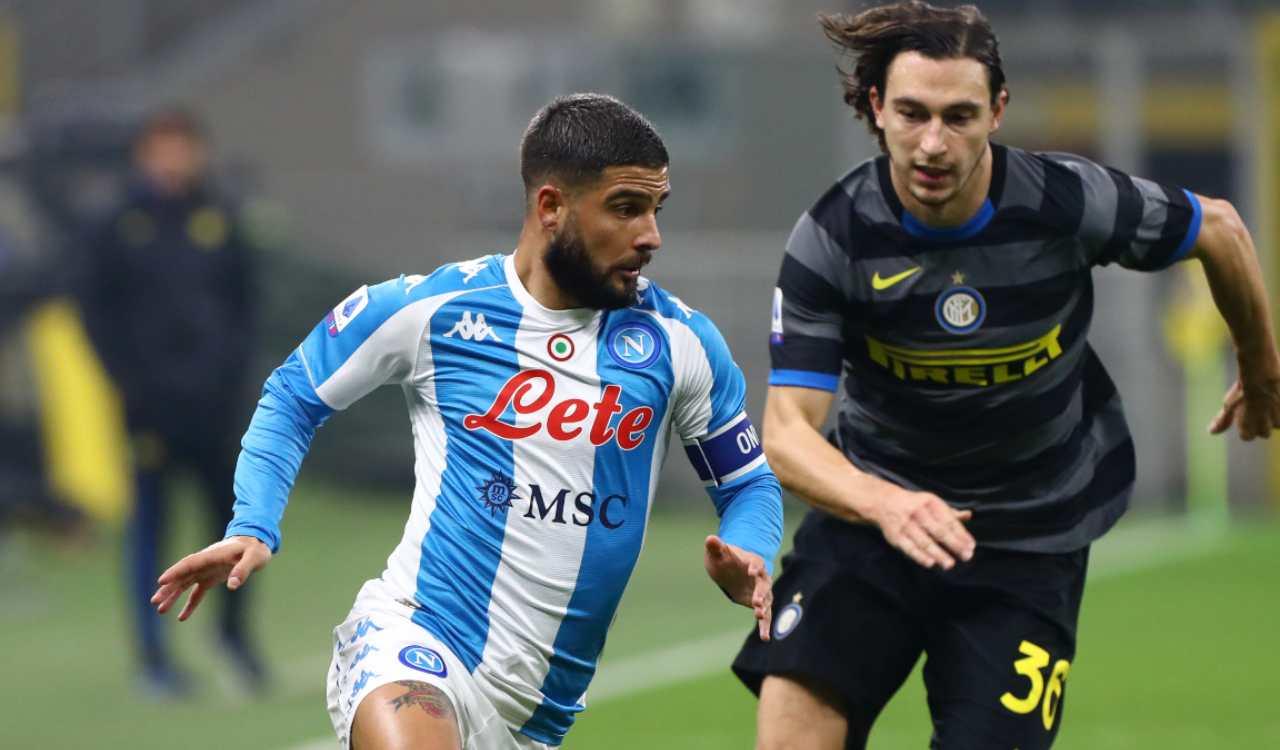Insigne Inter Napoli squalifica