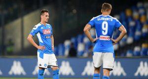 calciomercato napoli milik llorente