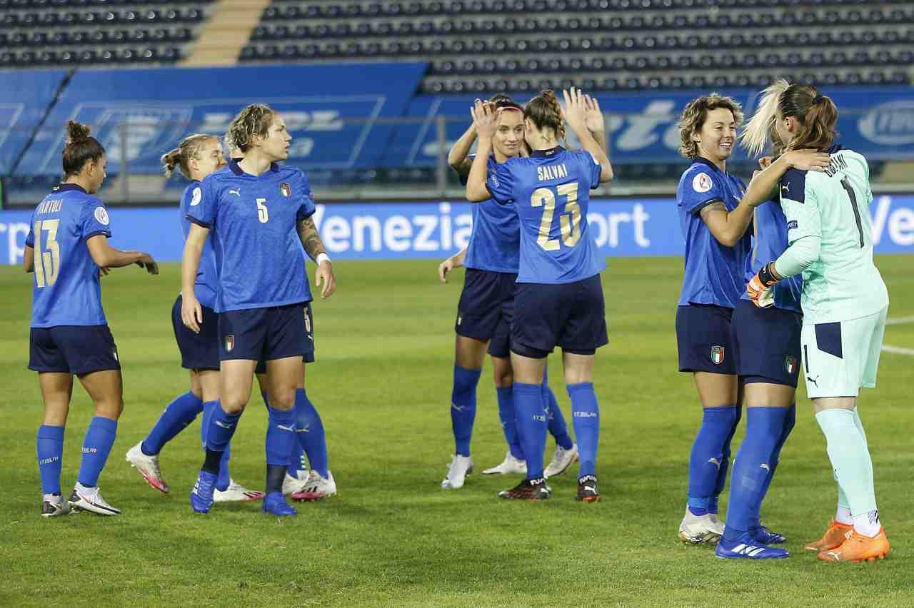 calcio femminile italia