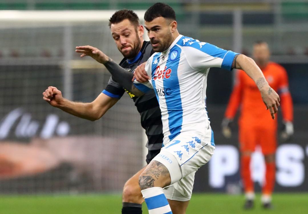 Petagna Inter-Napoli
