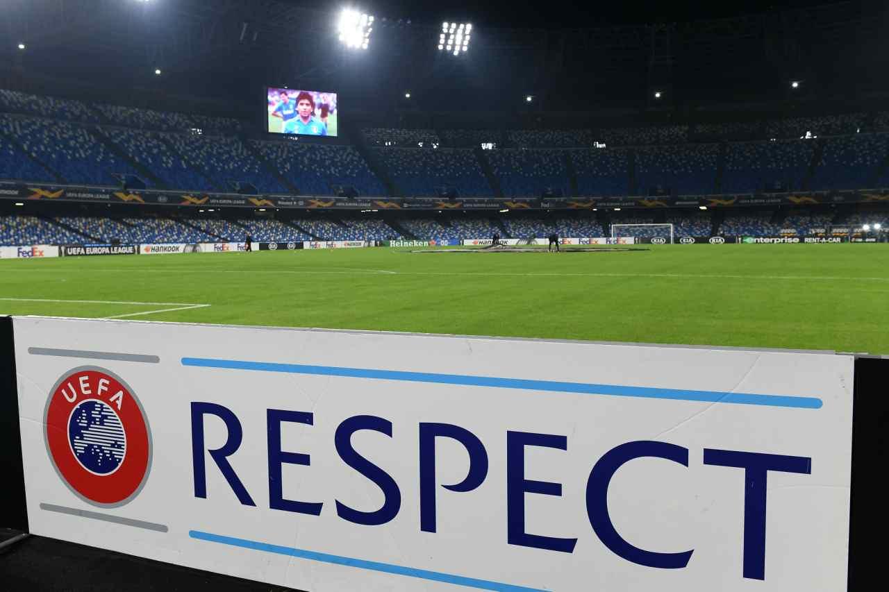 Stadio Diego Armando Maradona Napoli-Real Sociedad