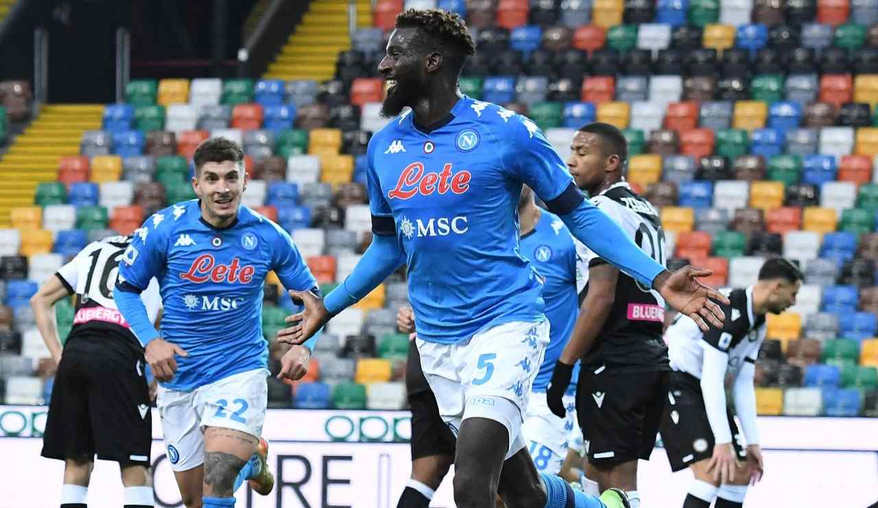 Bakayoko Udinese Napoli