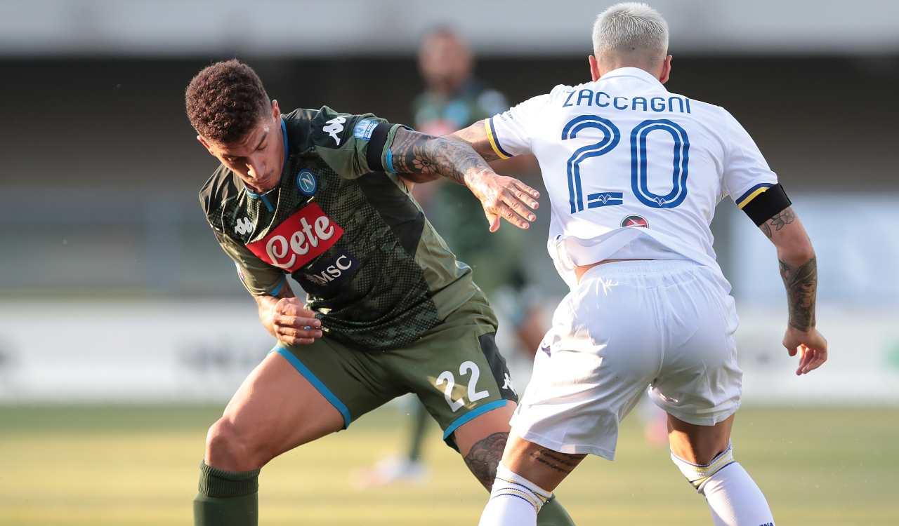 precedenti Verona-Napoli