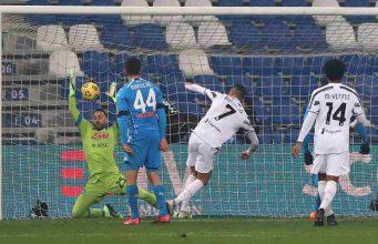 Juventus Napoli Ronaldo goal
