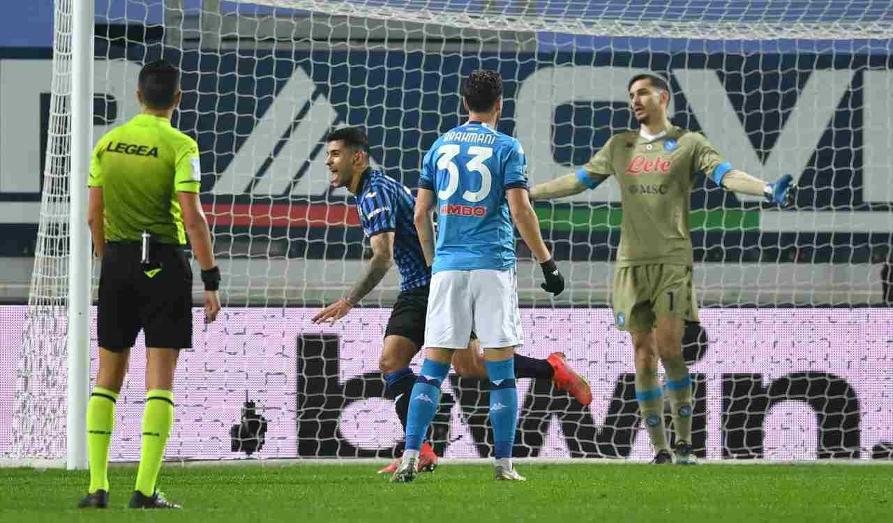 Atalanta Napoli febbraio 2021