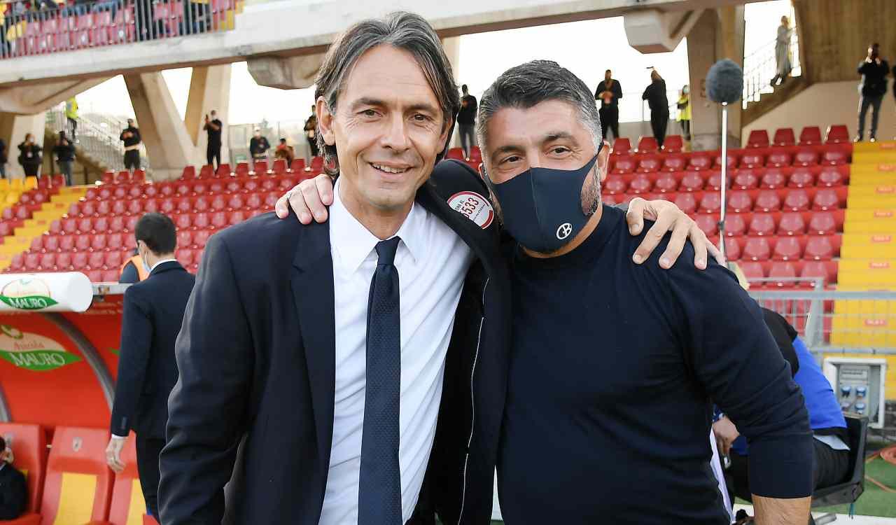 Filippo Inzaghi Gennaro Gattuso