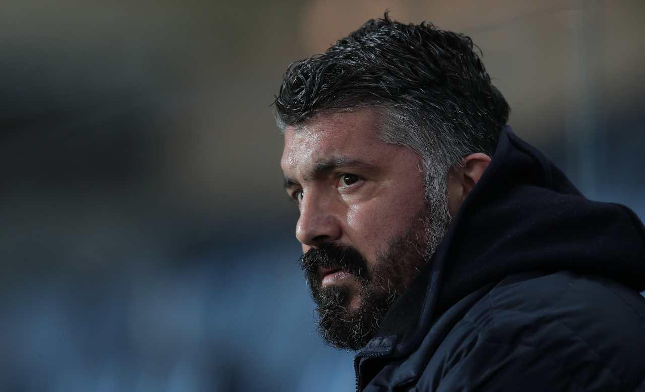 Gattuso allenatore Napoli