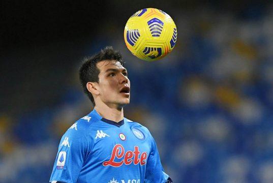 Hirving Lozano Champions Napoli Juventus